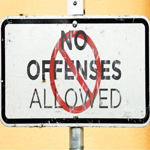No Offenses CD teaching