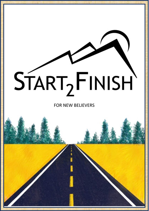 start 2 finish book cover